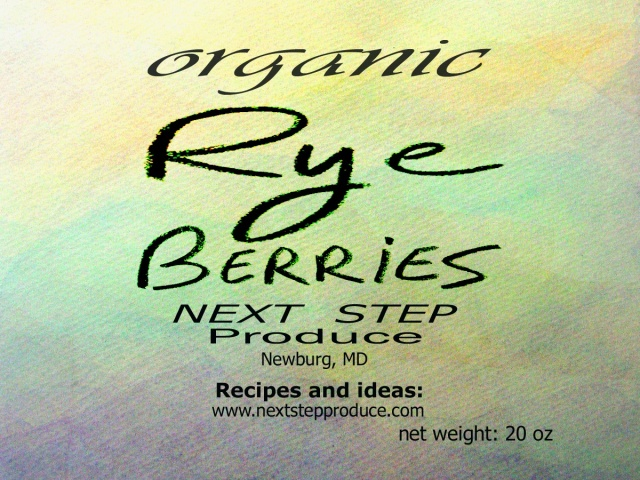 Rye berries